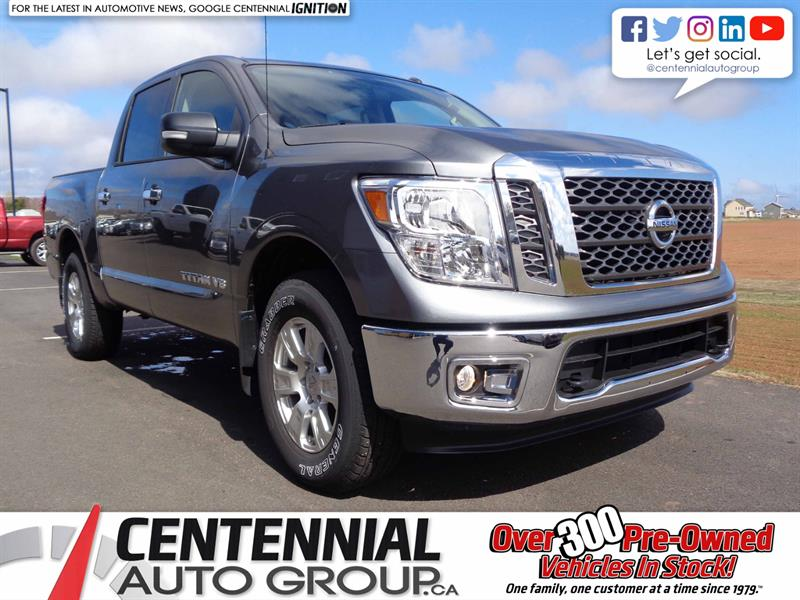 2018 Nissan Titan SV New | Backup Camera | Bluetooth |  #S18-065
