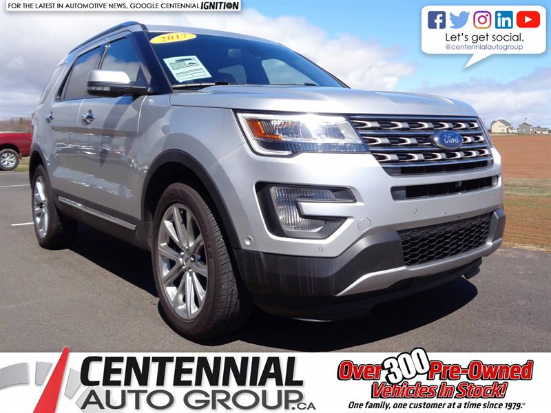 2017 Ford Explorer Limited | Local Trade | One Owner #S18-129A