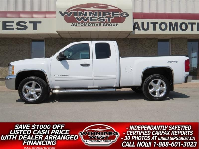 2013 Chevrolet Silverado 1500 LS V8 4X4, EXTRA CLEAN LOCAL TRADE #GW5013