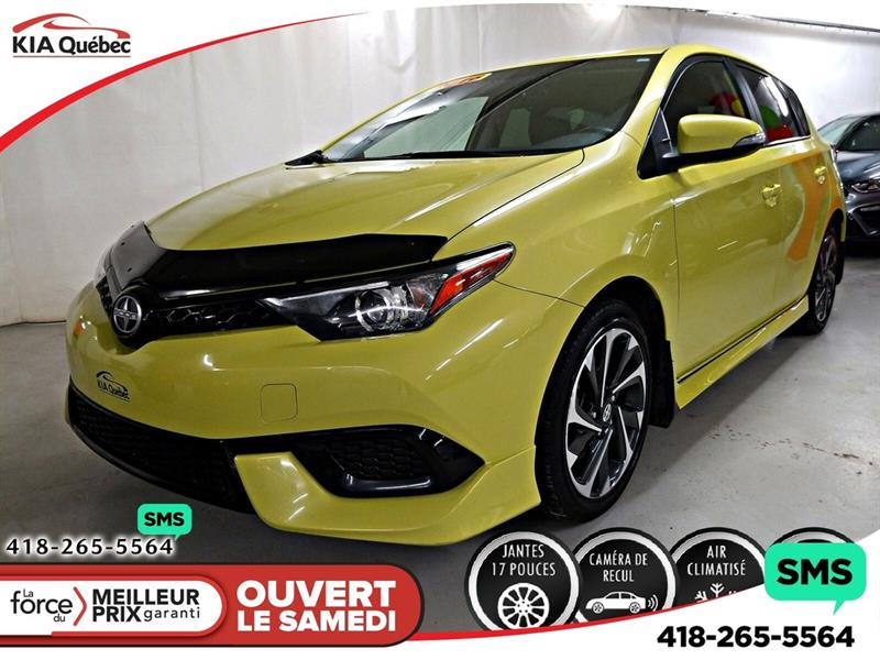 Scion iM 2016 CAMERA* A/C* MAGS* CRUISE CONTROL* #QU10703