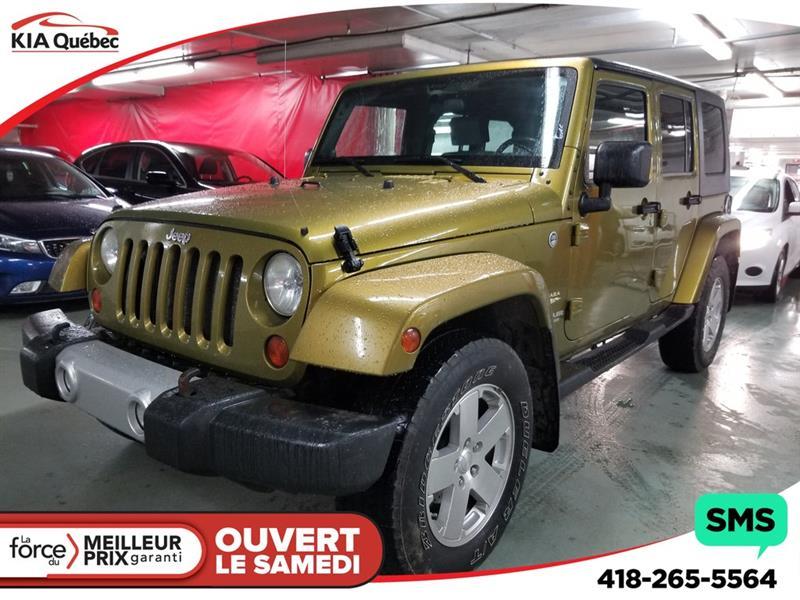 Jeep Wrangler 2008 UNLIMITED* SAHARA* 4X4* BLUETOOTH* #QU10718