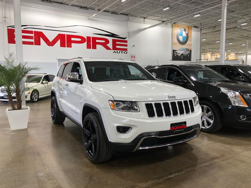 2015 Jeep Grand Cherokee 4WD Limited #A7118