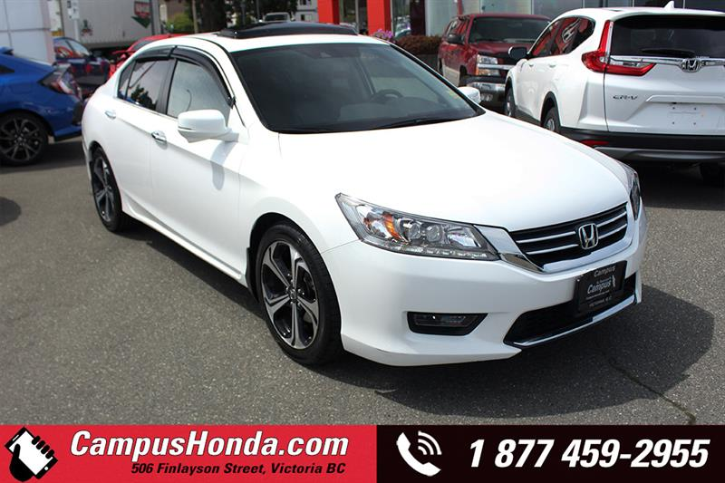 2015 Honda Accord Sedan Touring Navi Bluetooth #19-0574A