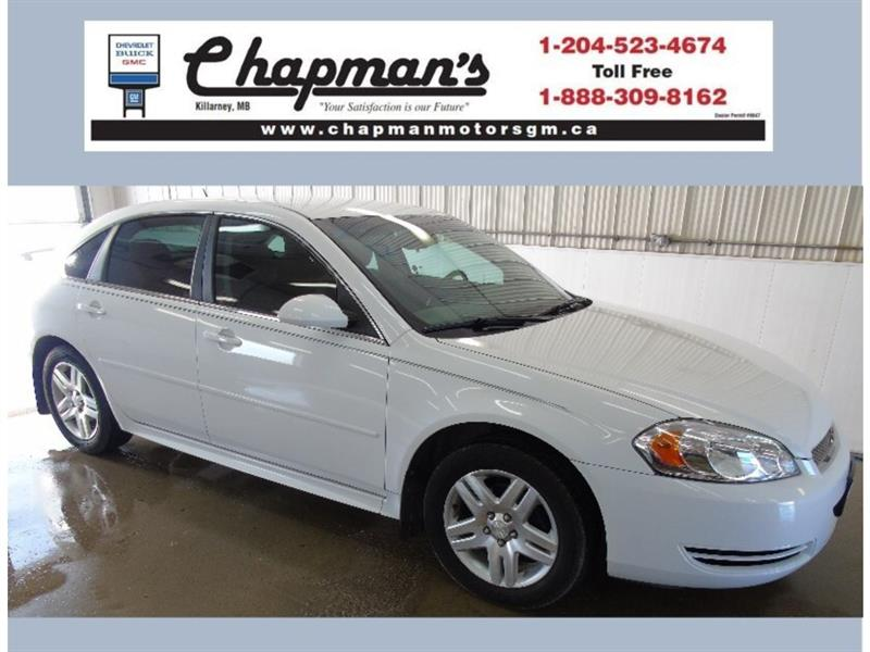 2012 Chevrolet Impala LT, 5 Passenger, Bluetooth, Remote Start #J-034B