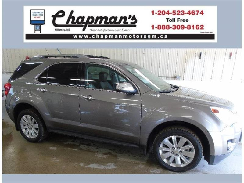 2011 Chevrolet Equinox LTZ AWD, Leather, Sunroof, Power Liftgate #K-011B