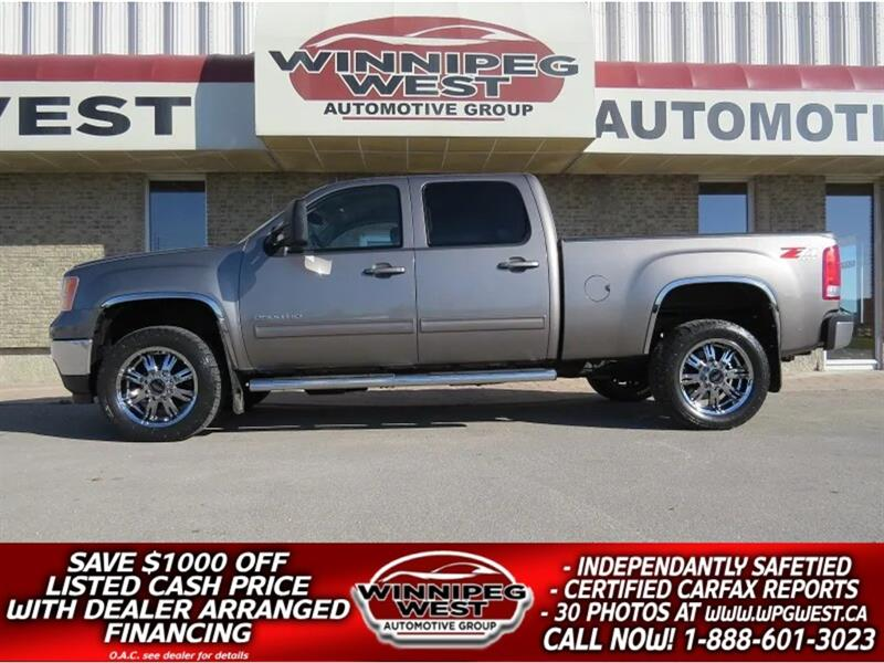2014 GMC Sierra 2500HD SLT Z71 4X4 DURAMAX DIESEL, LOADED, 1-OWNER, CLEAN #DW4214