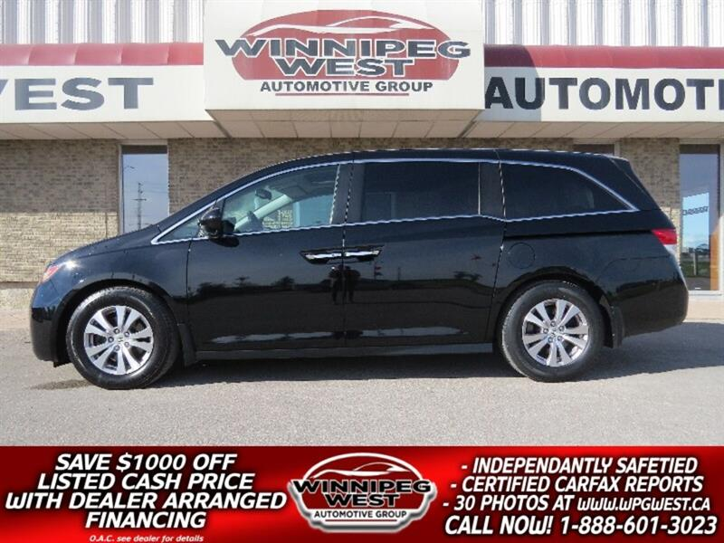 2014 Honda Odyssey EX-L DVD, SUNROOF, LEATHER, WESTERN CDN 1 OWNER #W4720