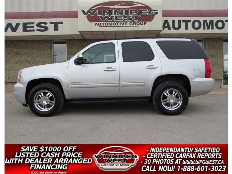 2012 GMC Yukon SLT2 8 PASSENGER 4X4, LOW K, ACCIDENT-FREE #GNW4614