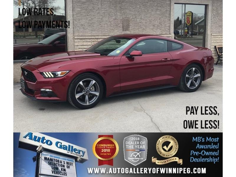 2017 Ford Mustang V6 *Coupe/Bluetooth/Backup Cam #21820A