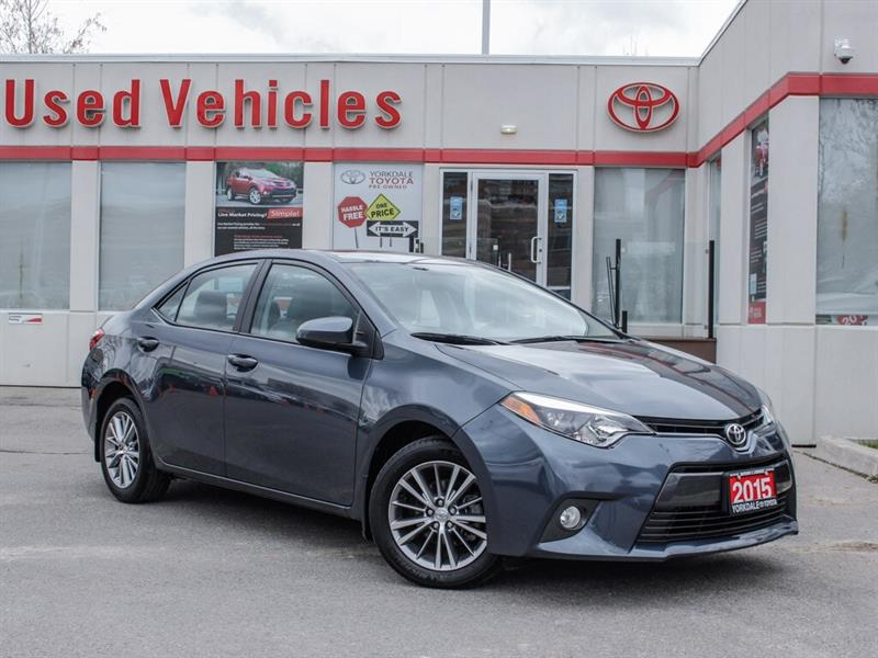 2015 Toyota Corolla LE   Alloys   H.Seats   R.Cam   B.Tooth #L8038