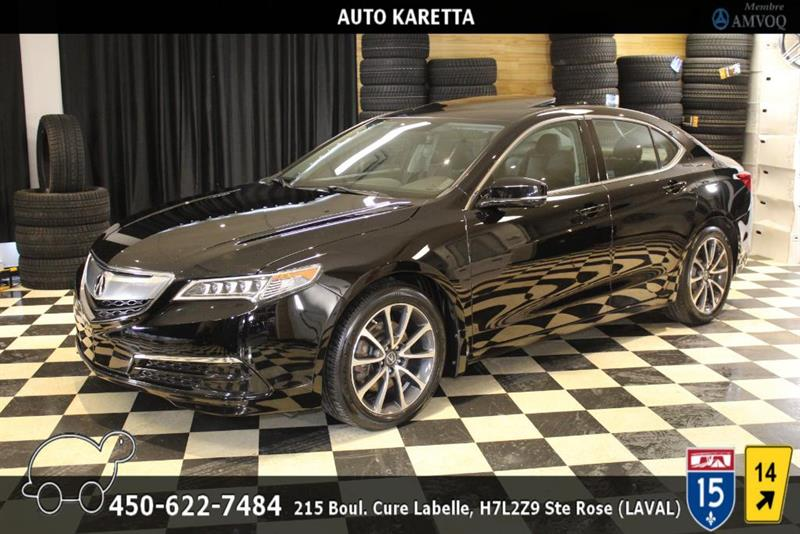 Acura TLX 2015 TLX AWD TECH PACK, TOIT, NAVI, CAM, LED, MAGS #AS9084