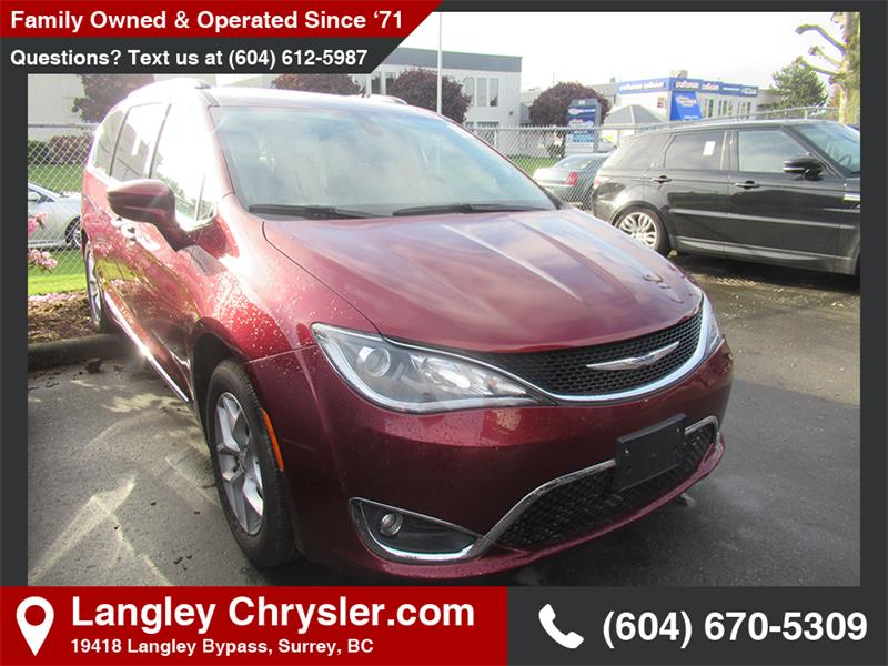 2018 Chrysler Pacifica Touring-L Plus #EE908970