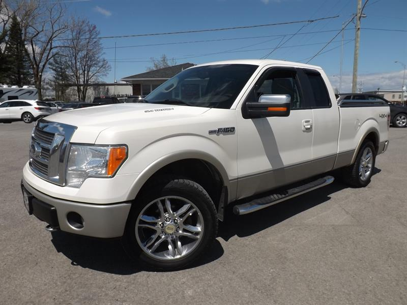 2009 Ford F-150 4WD SuperCab Lariat #956288