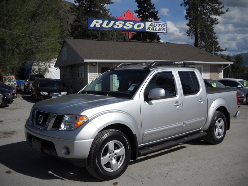 2006 Nissan Frontier SE CREW CAB ONLY 164 kms #3408