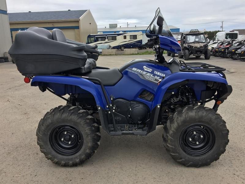 Yamaha Grizzly 550 FI 2014