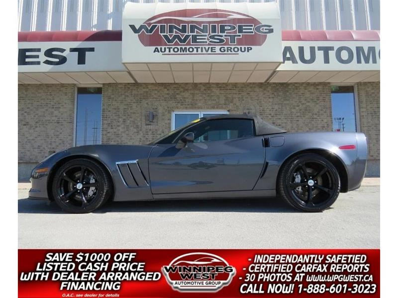 2012 Chevrolet Corvette GRAND SPORT COMMEMORATIVE EDITION #W4615