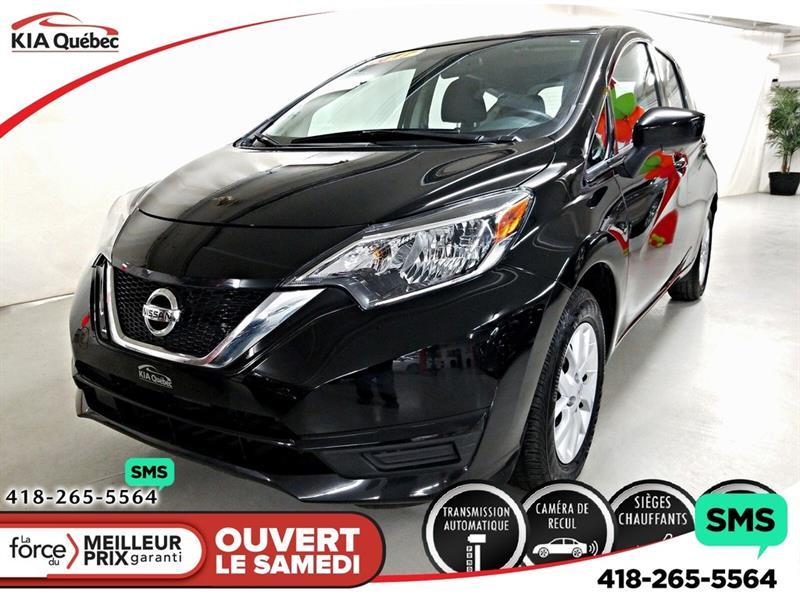 Nissan Versa Note 2017 SV* AUTOMATIQUE* A/C* SIEGES CHAUFFANTS* CAMERA* #QU10711