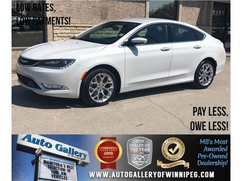 2015 Chrysler 200 C *AWD/Htd Lthr/Navi/Bluetooth/V6 #23888