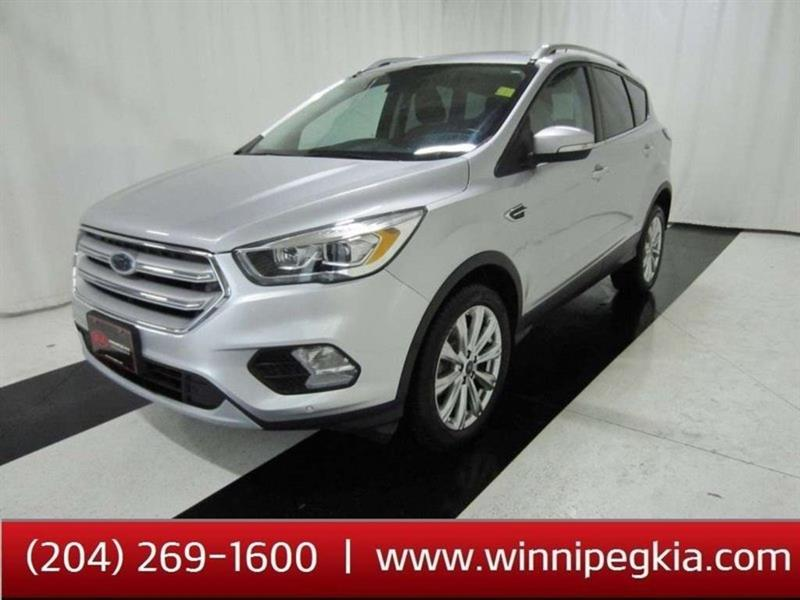 2018 Ford Escape Titanium *Accident Free!* #18FE37749