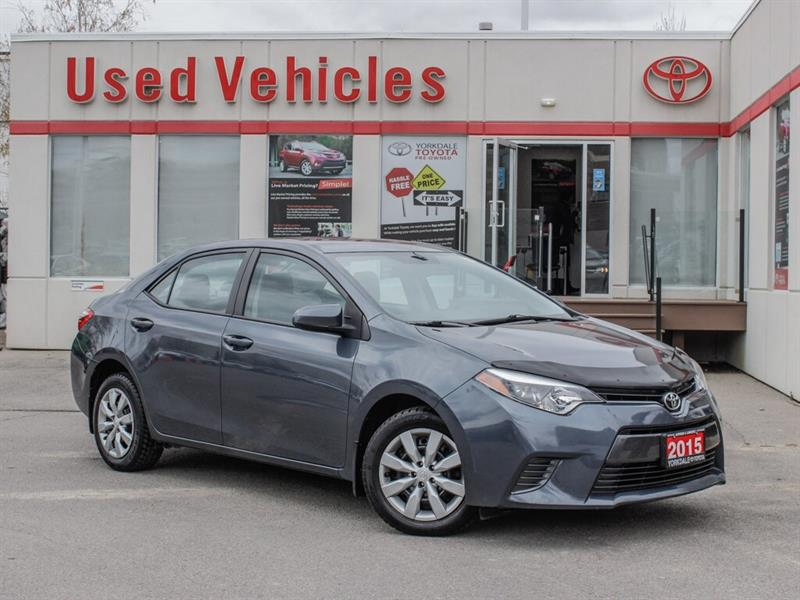 2015 Toyota Corolla LE   H.Seats   R.Cam   B.Tooth   Keyless #P7998