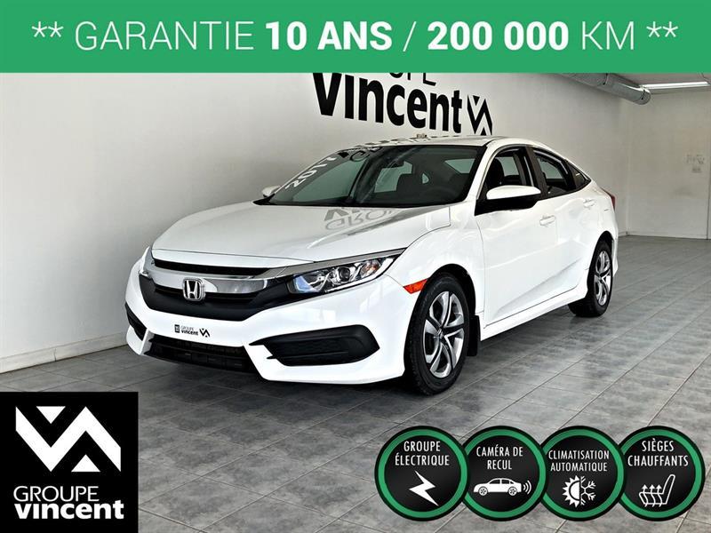 Honda Civic 2017 LX **GARANTIE 10 ANS** #K3055H