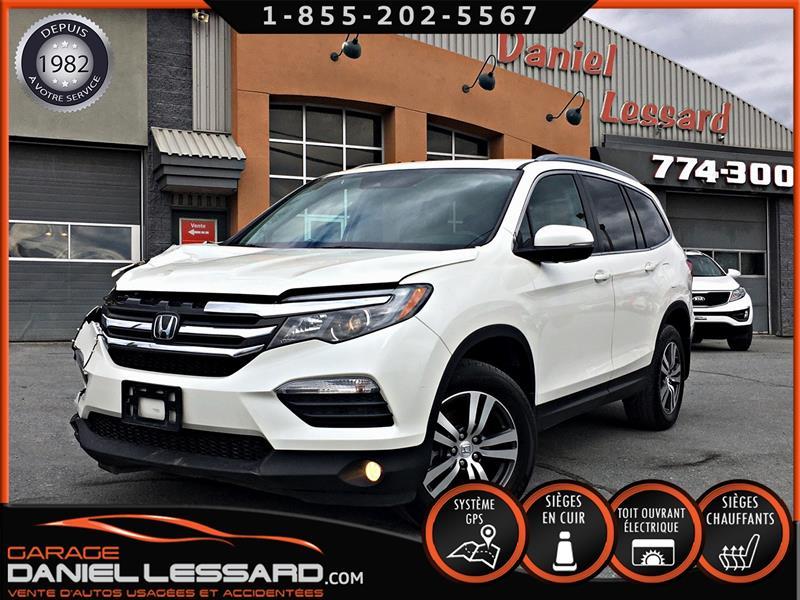 Honda Pilot 2017 EX-L NAVI, 4WD, CUIR, TOIT, GPS ET ++ #79279
