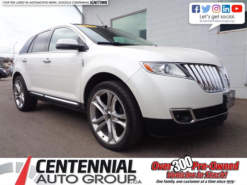 2013 Lincoln MKX AWD | Leather | Moonroof | Bluetooth | Heated  #P19-026A
