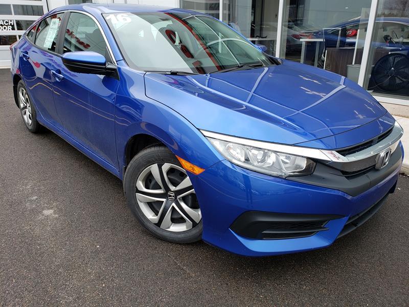 2016 Honda Civic Sedan 4dr CVT LX #J528A