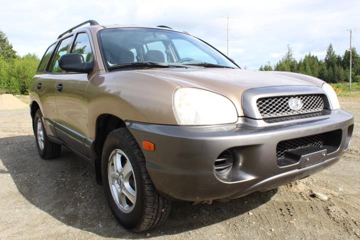 2004 Hyundai Santa Fe 4dr SUV GL FWD 2.4L Manual #12407D