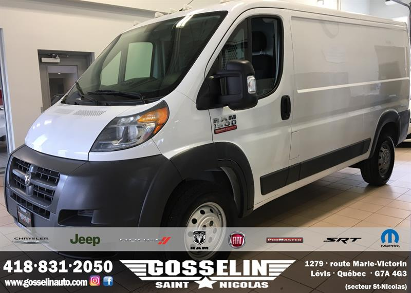 Ram ProMaster Cargo Van 2016 1500 Low Roof 136 WB #7841A