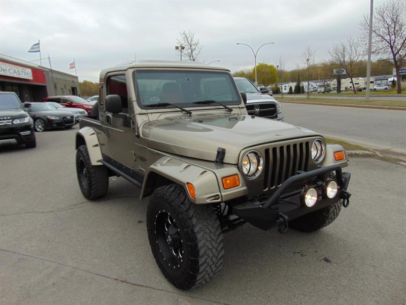 2006 Jeep TJ RUBI TRUX CONVERSION Unlimited #6P727676
