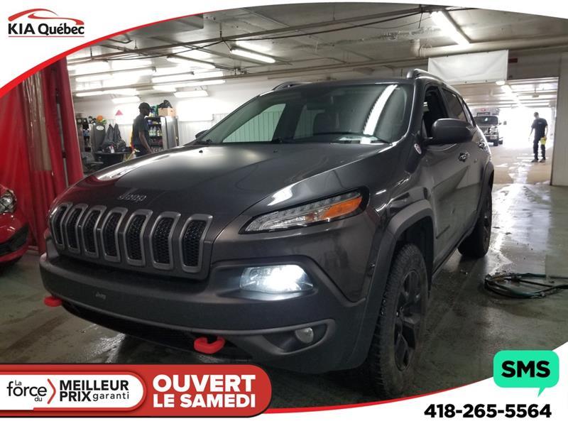 Jeep Cherokee 2017 TRAILHAWK* 4X4* V6*  HITCH* GPS* CAMERA* #K190769A