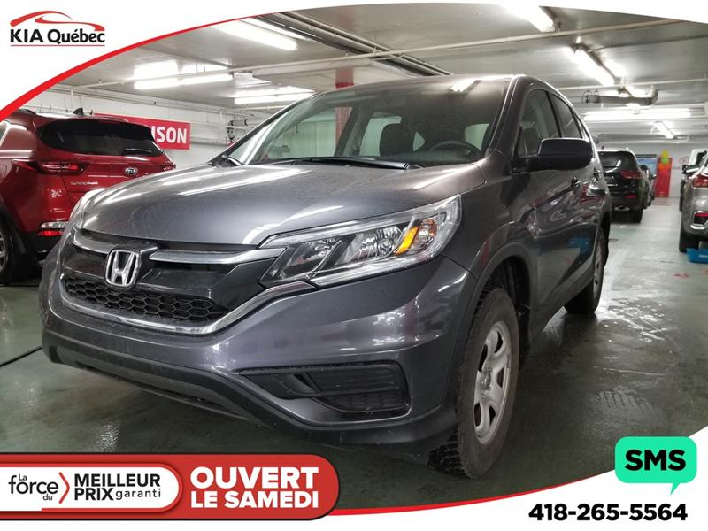 Honda CR-V 2016 LX* AWD* CAMERA* SIEGES CHAUFFANTS* #QU10763