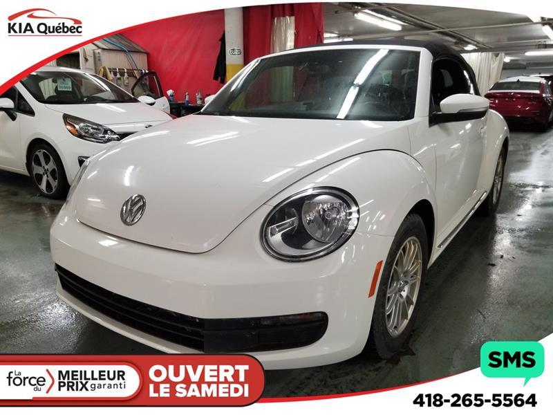 Volkswagen Beetle 2013 DECAPOTABLE* AUTOMATIQUE* SIEGES CHAUFFANTS* #K190134A
