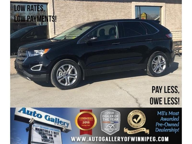 2018 Ford EDGE Titanium *AWD/Htd Lthr/Navi/Bluetooth #23802