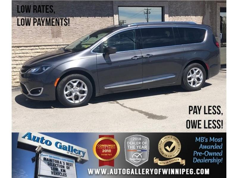 2018 Chrysler Pacifica Touring-L Plus *Lthr/Bluetooth/Dual DVD #23805