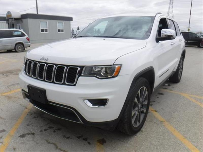 2018 Jeep Grand Cherokee Limited *AWD/Htd Lthr/Pano Roof/Navi/V6 #23921