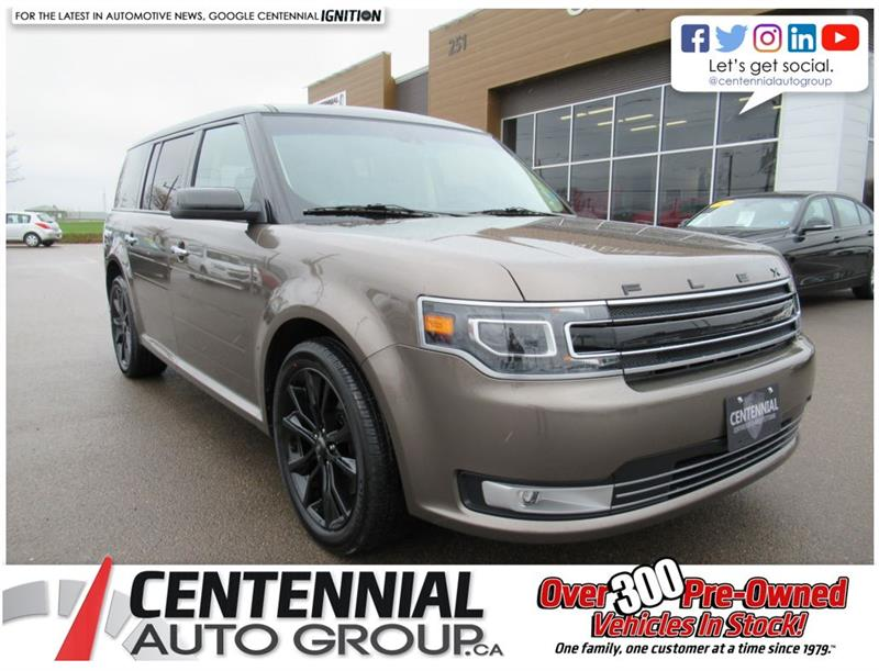 2019 Ford Flex Limited AWD | Leather | Nav | 7 Passenger #U776