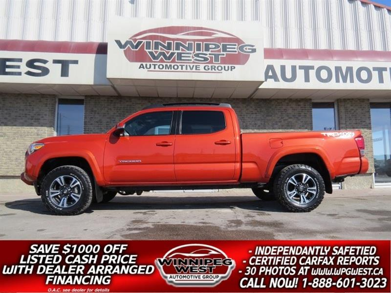 2017 Toyota Tacoma TRD OFF RD SPORT, SUNROOF, NAV, HTD SEAT, GORGEOUS #GW4977