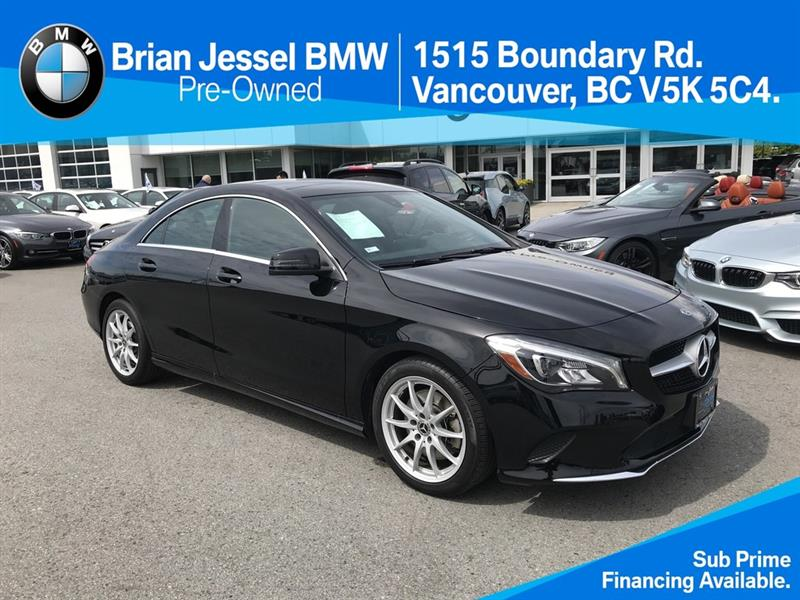 2018 Mercedes-Benz CLA250 4MATIC Coupe #BPS079
