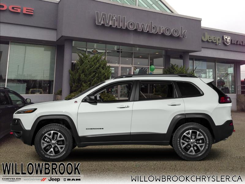 2017 Jeep Cherokee Trailhawk #19UP220