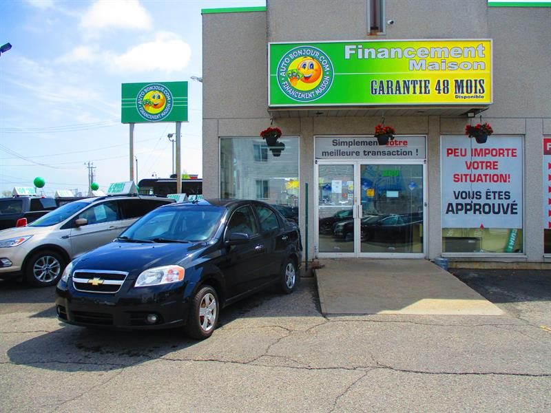 Chevrolet Aveo 2011 4dr Sdn LT #19-092