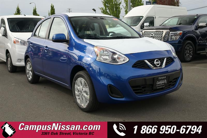 2019 Nissan Micra SV FWD w/ Style Package #9-A225
