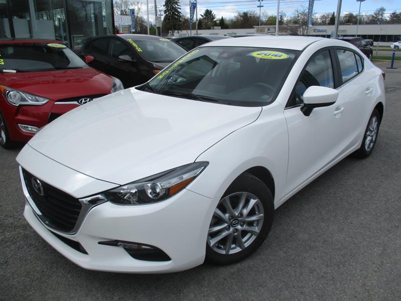 Mazda Mazda3 2018 GS, SKYACTIVE, VOLANT CHAUFFANT, MAG, A/C #A-2844B