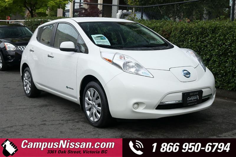 2016 Nissan Leaf | S | FWD w/ Quick-Charge #JN3259