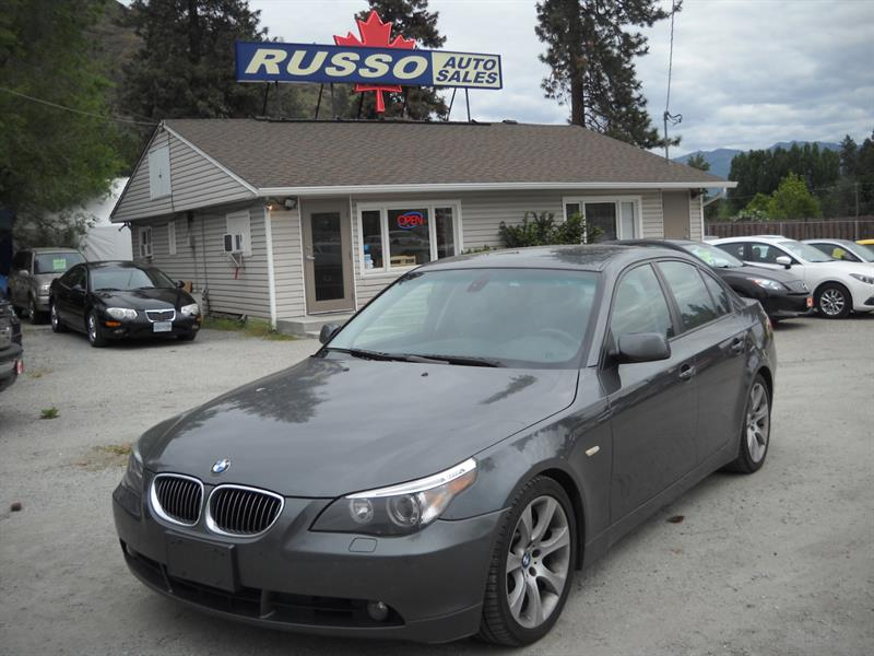 2004 BMW 5 Series 545i  ONLY 126 Kms #A8041