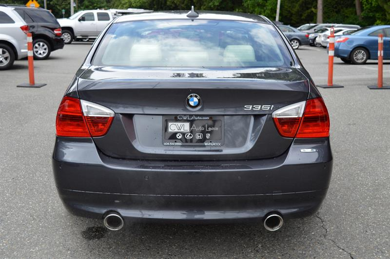 2007 BMW 3 Series 335i RWD - Very Clean !  #CWL9116M