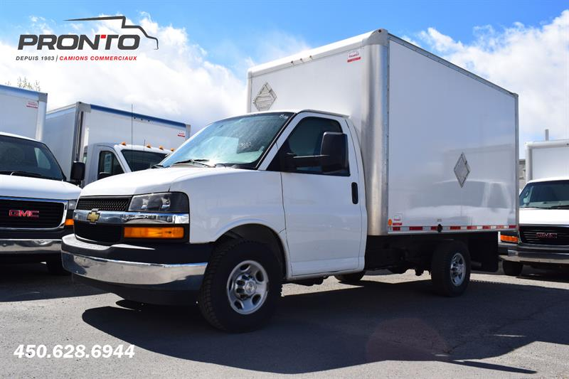 2018 Chevrolet Express 3500 ** Cube 12 pieds ** 6.0L ** Comme neuf ** #1861