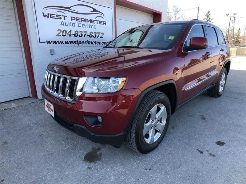 2012 Jeep Grand Cherokee Laredo 4X4 Only  88,750 kms. Very nice Jeep #5532