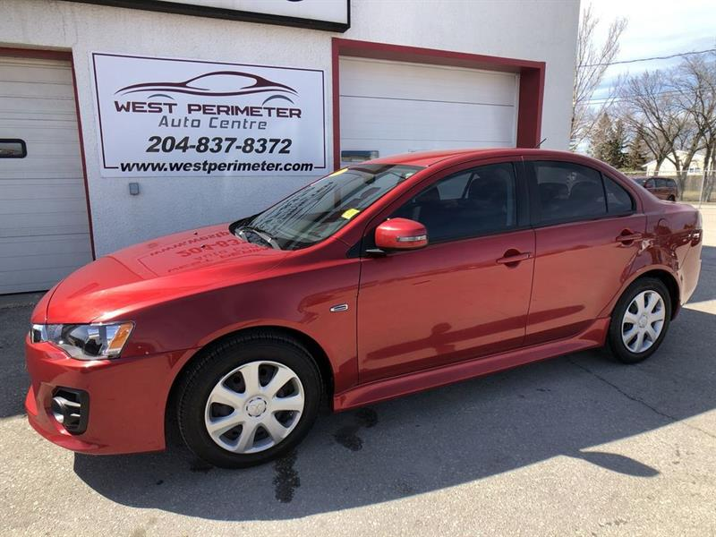 2016 Mitsubishi Lancer ES **Automatic**Tint**Heated Seats** #5141